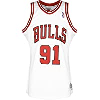 Mitchell & Ness Chicago Bulls Dennis Rodman Camiseta sin Mangas White