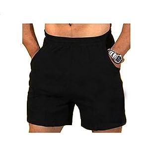 Alivebody Herren Athletic Cotton Jersey Shorts Leistung