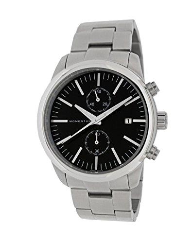 Momentum Men's Quartz Stainless Steel Casual Watch Black
