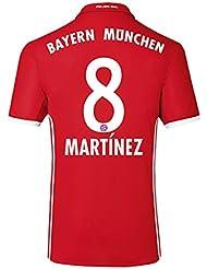 2016-17 Bayern Home Shirt (Martinez 8)