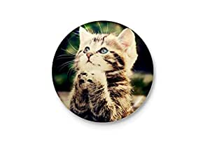 Cute Kitty Badge