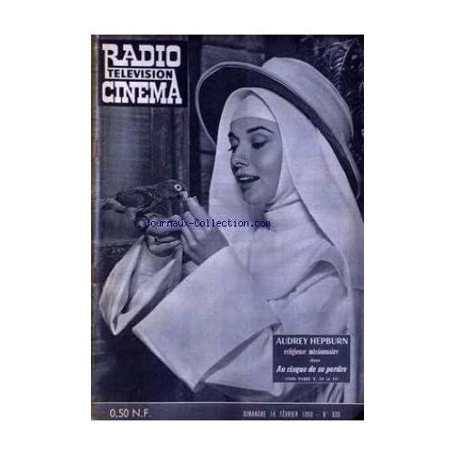RADIO CINEMA TELEVISION [No 526] du 14/02/1960 - AUDREY HEPBURN.