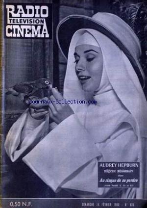RADIO CINEMA TELEVISION [No 526] du 14/02/1960 - AUDREY HEPBURN. par Collectif