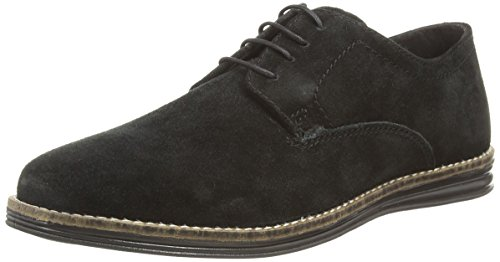 Red Tape - Medwin, Scarpe stringate basse derby Uomo Nero (Nero)