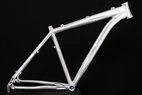 "27,5\"" Zoll Alu Fahrrad Rahmen MTB Scheibenbremse Rh 48cm roh Hardtail A-Head 1 1/8 phosphatiert"
