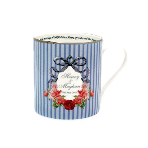 Halcyon Tagen H.R.H. Prince Harry & Meghan markle Royal Hochzeit 19. kann 2018-The Royal Wedding Collection: Hochzeit Bänder Fine Bone Englisch China Becher Fine China-band