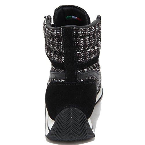 DIADORA HERITAGE donna sneakers alte 161891 80013 EQUIPE MID BOUCLE Nero