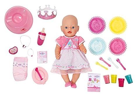 Zapf Creation 822036 - Baby born, Puppe Interactive, 25 Geburtstag, rosa