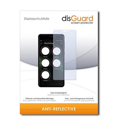 disGuard® Bildschirmschutzfolie [Anti-Reflex] kompatibel mit Allview P9 Energy Mini [4 Stück] Entspiegelnd, Matt, Antireflektierend, Extrem Kratzfest, Anti-Fingerabdruck - Panzerglas Folie, Schutzfolie