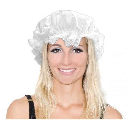 Kostüm Die Bäuerin (NEU Hut Haube, weiß)