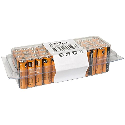 Pile LR6 (AA) alcaline(s) 1.5 V Duracell ID1500 48 pc(s)