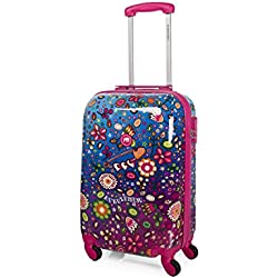 KUKUXUMUSU - 55950 TROLLEY CABINA LOW COST, Color Fucsia