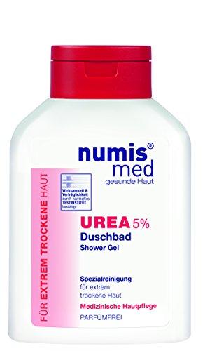 numis med Duschbad UREA 5% 200ml- vegan & parabenfrei 3er Pack (3x200ml)