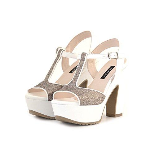 Sandali strass albano multicolore 40