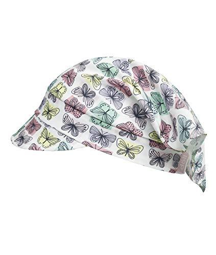 Döll Baby-Mädchen Kopftuch mit Schirm Sonnenhut, Rosa (Chateau Rose 2850), 47