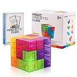 EisEyen 3 x 3 x 3 Cube 3D Tetris Puzzle magnético para Adultos y niños