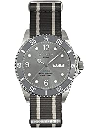 University Sports Press EX-D-ELE-40-NN-GRIVGR - Reloj de cuarzo unisex, correa de nailon color gris