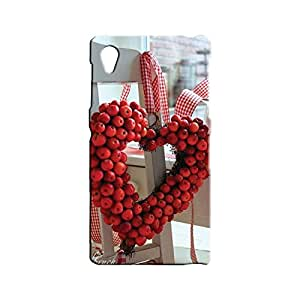 BLUEDIO Designer 3D Printed Back case cover for Sony Xperia Z1 - G5807