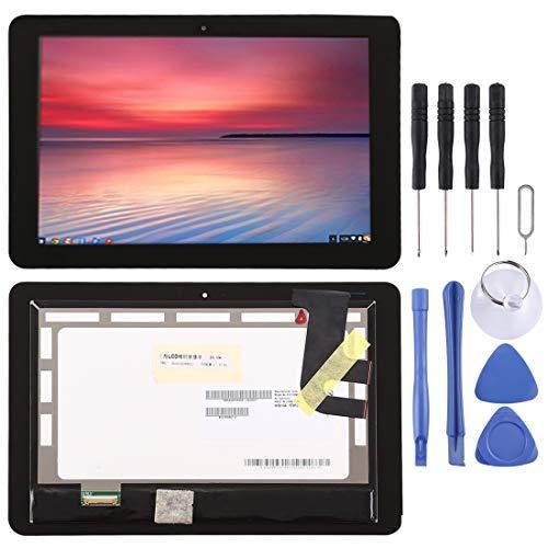 ASUSERSATZTEILEZZ Asus Handy-Ersatzteile LCD-Bildschirm und Digitizer Full Assembly für ASUS Chromebook Flip C100PA 10 Zoll (schwarz) (Farbe : Black)