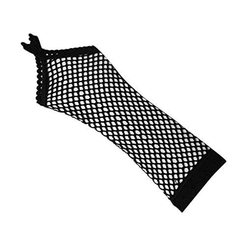 KonJin Schwarze Opera Handschuhe Lange Handschuhe 1920er Jahre Zubehör Flapper Kostüm Fingerlose Handschuhe für Frauen Roaring 20's Accessoires Klassische Satin Ellbogen Länge Handschuhe (Roaring 20's Kostüm Frauen)