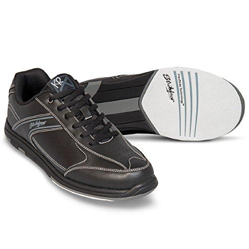 Sport Neon Herren Bowlingschuhe Exzellente QualitäT Schuhe Brunswick Fuze Schwarz