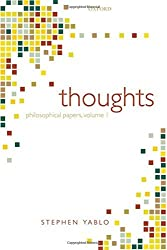 THOUGHTS MIND MEANING & MODALITY C: Papers on Mind, Meaning, and Modality by Yablo (2008-11-27)