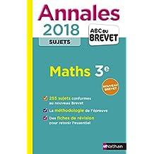 Annales ABC du Brevet Sujets Maths 2018
