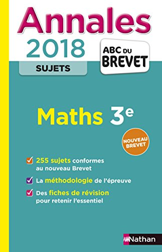Maths 3e : Sujets