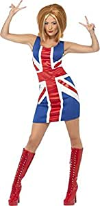 Déguisement Spice Girl Anglais Taille S