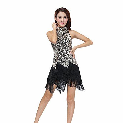 in Dance Kleid Ballsaal Salsa Tango Dance Kostüm Dancewear von Reefa (Damen Latin Dance Kostüme)
