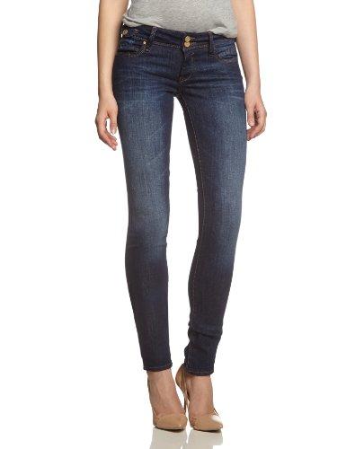 Mavi Damen Skinny Jeanshose LINDY, Gr. W26/L32, Blau (deep rock chic str 18024) (Leg-jeans Low-rise-skinny)
