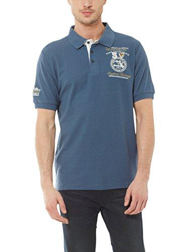 Ultrasport Fort Lauderdale Collection Poloshirt Herren Wadhurst klassisches Herren Polohemd im 3-Knopf-Style, Ensign Blau, 2XL