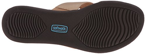 Softwalk Tillman Cuir Sandale Gold Wash