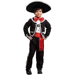 My Other Me Me-203318 Disfraz de mejicano para niño, 7-9 años (Viving Costumes 203318)