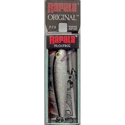 Rapala Silver 07 Floater Fishing Lure 1/8