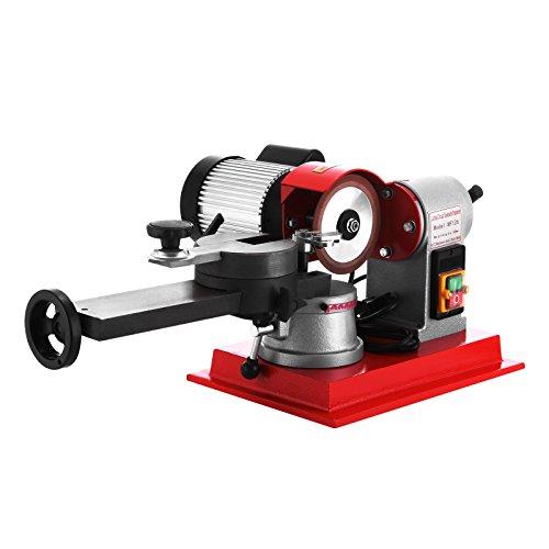 Cueffer 370W Afilador de Hoja de Sierra 125 mm Sacapuntas para Hoja de Sierra 2850RPM Rectificadora para Hoja de Sierra con Punta de Carburo de 80 mm a 700 mm