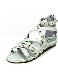 Sandali neri per bambina Sendit4me 7eRSA