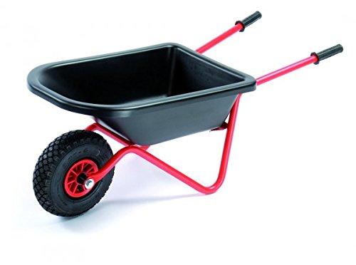 nderschubkarre von Dino Cars groß in Rot, Schwarz mit Luftreifen