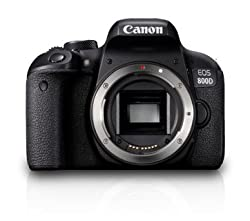Canon EOS 800D 24.2MP Digital SLR Camera Body only (Black)