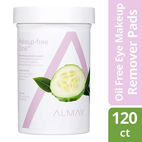 Revlon Make-up Entferner (Almay Oil Free Gentle Eye Makeup Remover Pads, 120 ct by Almay)