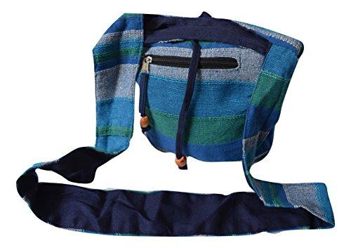 Générique, Borsa a tracolla donna Multicolore multicolore blu