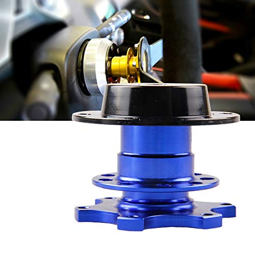 REFURBISHHOUSE Kit Universale per Attacco rapido HUB Racing Steering Wheel per Auto