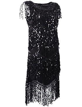 non-brand Sharplace Vestido de Baile de Salón Accesorios Ropa de Mujer Chicas Elegante