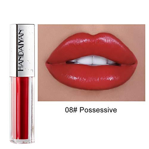 Sehr Sexy Lip Palette (Lippenstift TTLOVE Wasserdichte Langlebige Lipgloss FlüSsige Samt Liquid Lipsticks, Matte Makeup Lip Farben FlüSsigkeit HäLt Sehr Lange Lipstick)