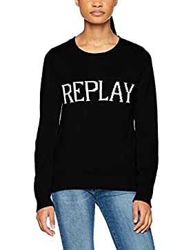 REPLAY Strickpulli, suéter para Mujer