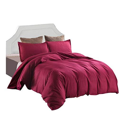 PRETTYEST Bettwäsche-Sets 2 Stück 1 x Bettbezüge+ 1 x Kissenbezüge 100{e873b9c19367540d0a610361659f69d12e4e5186f7ac20bc01a02c9495dee042} Weiche und Angenehme Mikrofaser Schlafkomfort Winter Warme Bettwäsche 150X230 cm