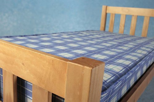 Comfy Living Single 3ft Wooden Bed Frame Carlow Mattress
