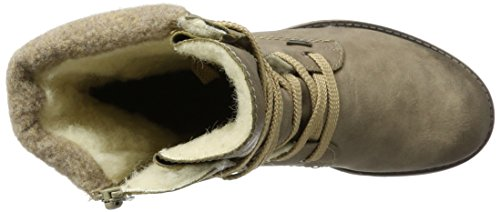 Rieker Damen 78531 Stiefel Beige (kiesel/Wood)