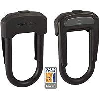 Hiplok DX Bügelschloss Fahrrad Stahl 14mm Tragbar Nylon Überzug Clip System Befe