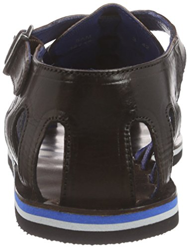 Melvin & Hamilton Sam 3, Sandales Bride cheville homme Marron - Braun (Infant Dark Brown, Modica Black)
